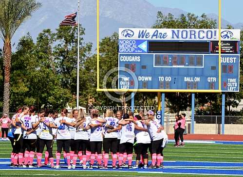 Norco Cougars vs Upland Mamacanes 10 21 2019