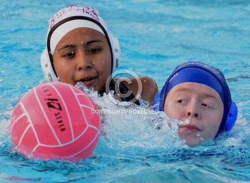 NHS JV Girls Water Polo vs Bell Gardens 1 3 2014
