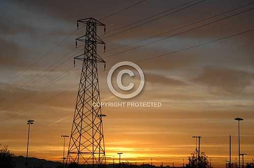 Power Line Sunrises
