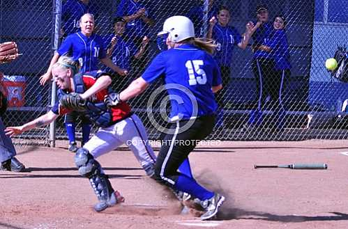 NHS Cougars CIF Great Oak WolfPack 1st Round 5/17/2012