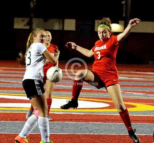 CHS Girls Soccer vs Banning -- 1 6 2020