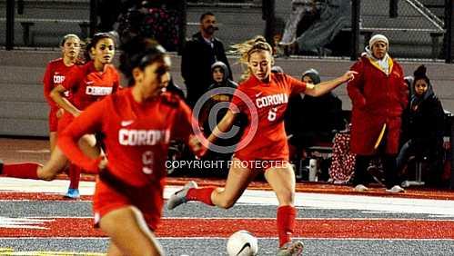 CHS Girls Soccer vs Ontario Jaguars - 12 16 2019