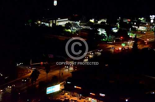 Beacon Hill at Night  August 29 2013