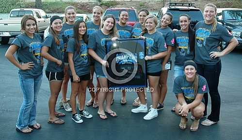 NHS Girls Softball Team Norco City Council Presentation 9 5 2012